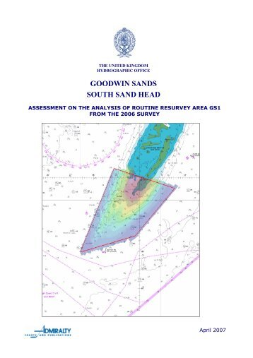 GS1 South Sand Head - United Kingdom Hydrographic Office