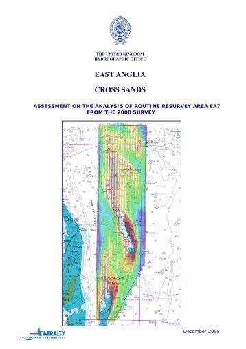 EAST ANGLIA - United Kingdom Hydrographic Office