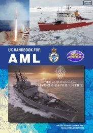 uk handbook for aml - United Kingdom Hydrographic Office