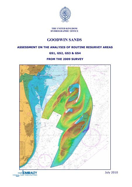 GS1-2-3-4 Goodwin Sands - United Kingdom Hydrographic Office