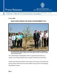 ukho goes green for world environment day - United Kingdom ...