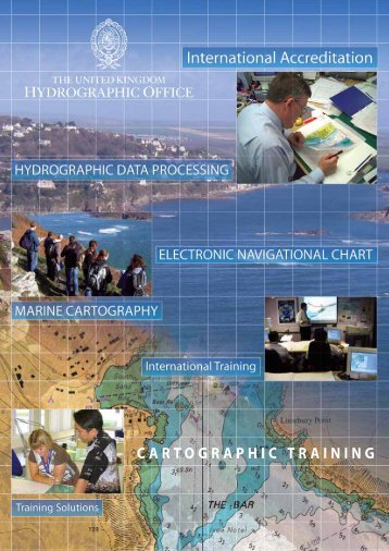 ukho cartographic training - United Kingdom Hydrographic Office