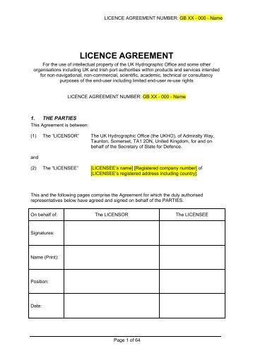 Pdf of UKHO Reuse licence template - United Kingdom ...