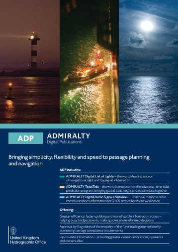 ADMIRALTY Digital Publications - United Kingdom Hydrographic ...