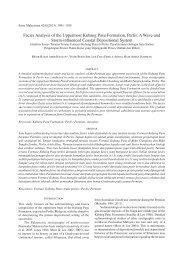 Facies Analysis of the Uppermost Kubang Pasu Formation, Perlis: A ...