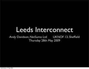 Leeds Interconnect