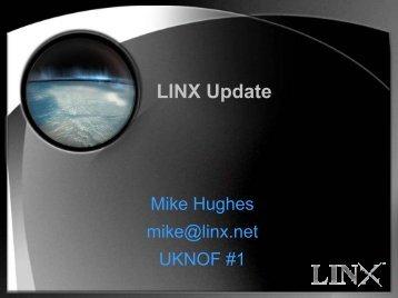 LINX Update