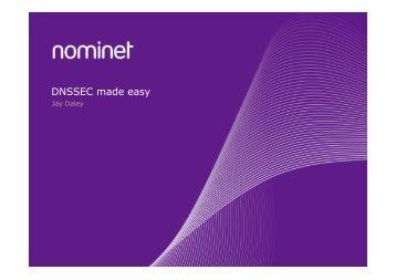 DNSSEC made easy