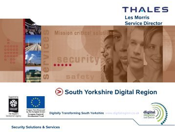 Digital Region - UK Network Operators' Forum