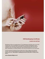 ICB Bookkeeping Certificate - UK Open College