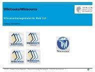 WikiBooks/WikiSource - UKP