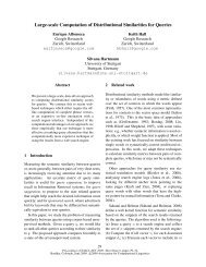 Large-scale Computation of Distributional Similarities for ... - UKP