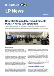 ECDIS part 2 - UK P&I
