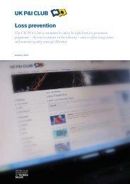 LP Initiatives 2013 - UK P&I