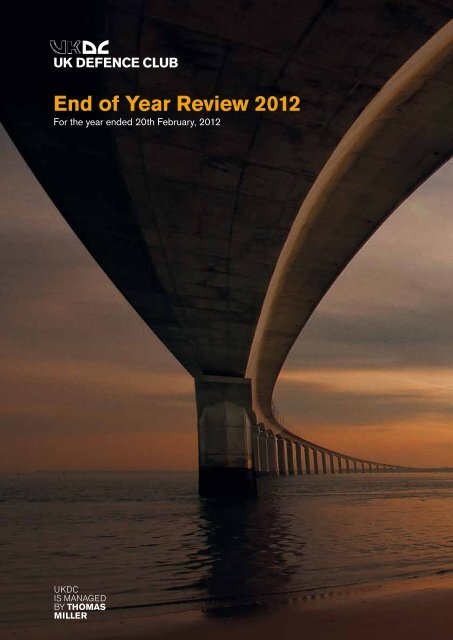 UKDC's End of Year Review 2012 - UK P&I
