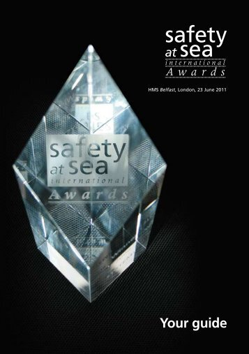 SASI Awards 2011 - UK P&I