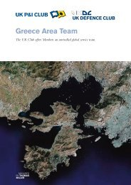 Greece Area Team - UK P&I
