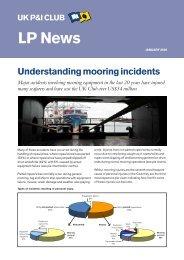 Understanding Mooring Incidents - UK P&I