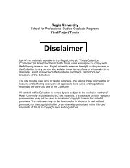 Disclaimer - Alliance Digital Repository