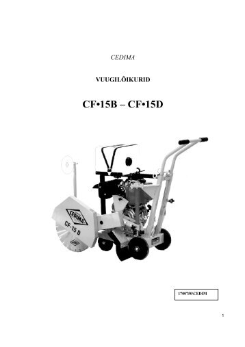CF•15B – CF•15D - Mecro
