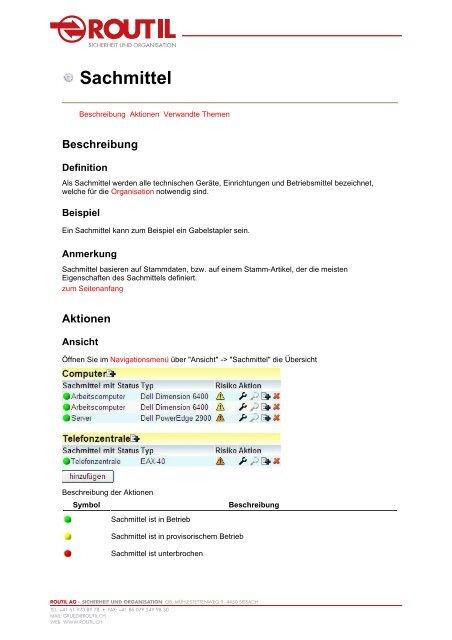 SIWAKO Handbuch