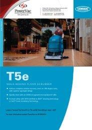 Tennant T5e Brochure