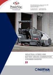 Nilfisk CS7000 Sweeper Scrubber Brochure