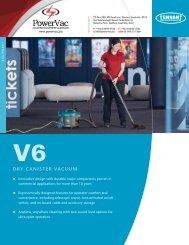 Tennant V6 brochure