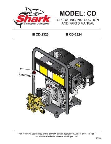For Bravetti Euro Pro Model Pc104 Pressure Cooker Shark