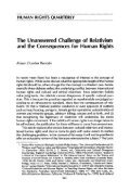 The Unanswered Challenge of Relativism and the Consequences ... - Page 2