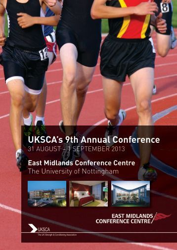 booking form - UKSCA