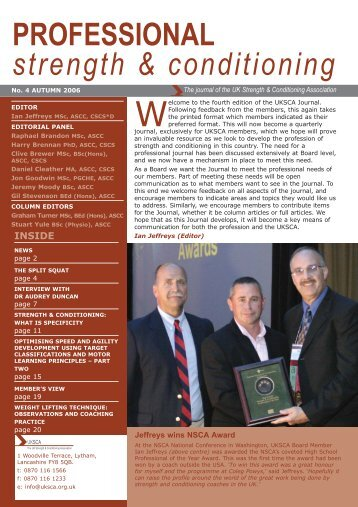 uksca news october 2006.qxp