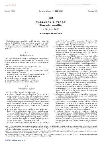 439/2006 - Elektronická zbierka zákonov