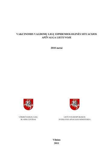 2010 m. ataskaita - Užkrečiamųjų ligų ir AIDS centras