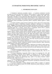 proceduros 2.pdf - Užkrečiamųjų ligų ir AIDS centras