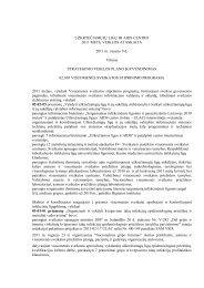 ulac 2011 m. veiklos ataskaita - Užkrečiamųjų ligų ir AIDS centras
