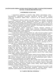LEGIONELIOZĖS PROFILAKTIKOS IR KONTROLĖS DARBŲ ...