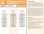 Salud Ocupacional con énfasis en Seguridad Industrial - Ulacit