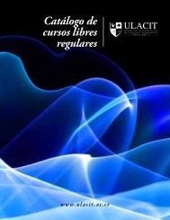 Catalogo cursos libres cuatrimestrales.pdf - Ulacit