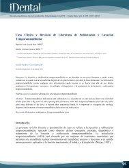 Caso Clínico y Revisión de Literatura de Subluxación y ... - Ulacit