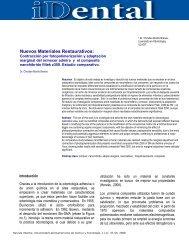 Nuevos Materiales Restaurativos: - Ulacit