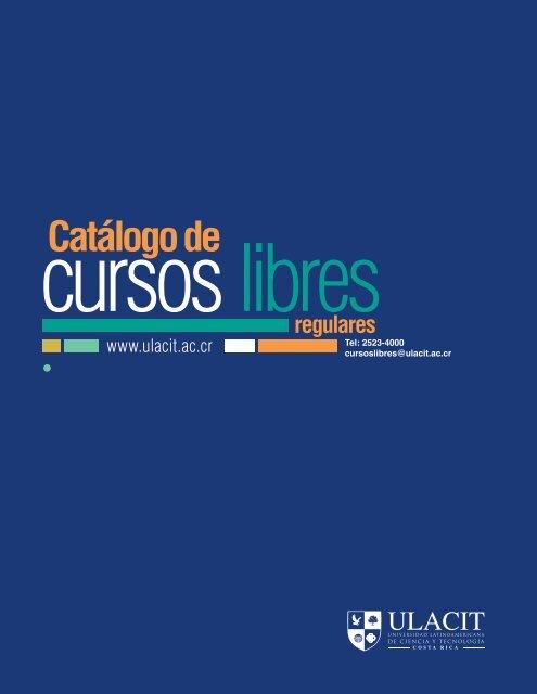 Ver catálogo de cursos libres - Ulacit