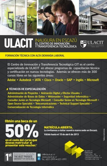 Voucher CIT- digital - Ulacit