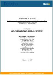 análisis comparativo de la regulación sobre resolución ... - Ulacit
