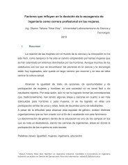 Factores que influyen en la decisión de la escogencia de ... - Ulacit