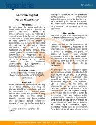La firma digital - Ulacit