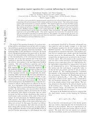 arXiv:cond-mat/0308144 v1 7 Aug 2003 - Université Libre de Bruxelles