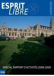 septembre 2009 - Université Libre de Bruxelles