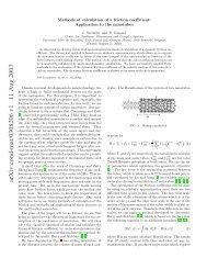 arXiv:cond-mat/0308206 v1 11 Aug 2003 - Université Libre de ...