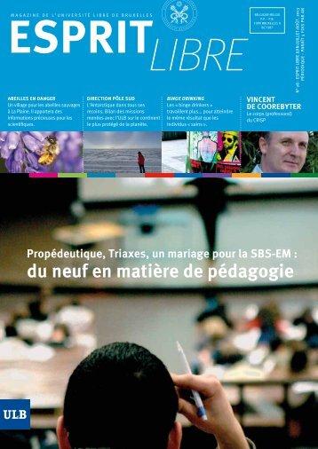Esprit libre - Université Libre de Bruxelles